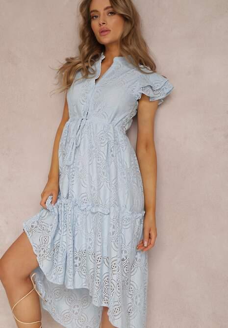 Jasnoniebieska Sukienka Meniphoche
