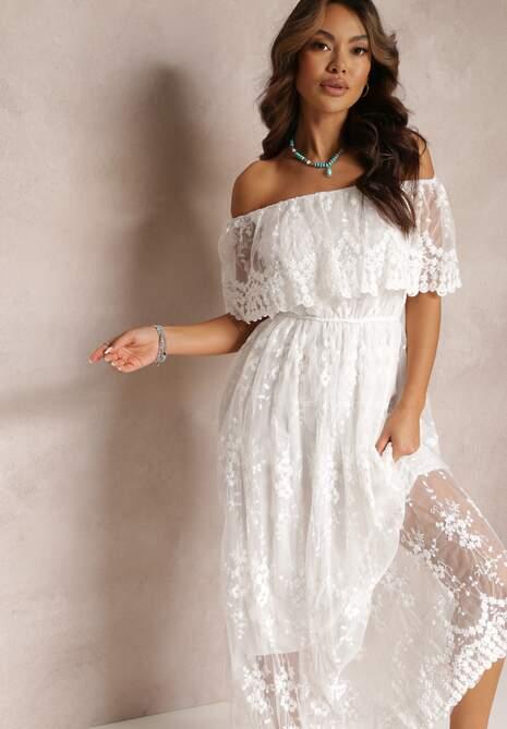 Biała Sukienka Phrixiasse