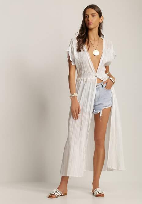 Biała Sukienka Menipheshi
