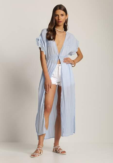 Jasnoniebieska Sukienka Menipheshi