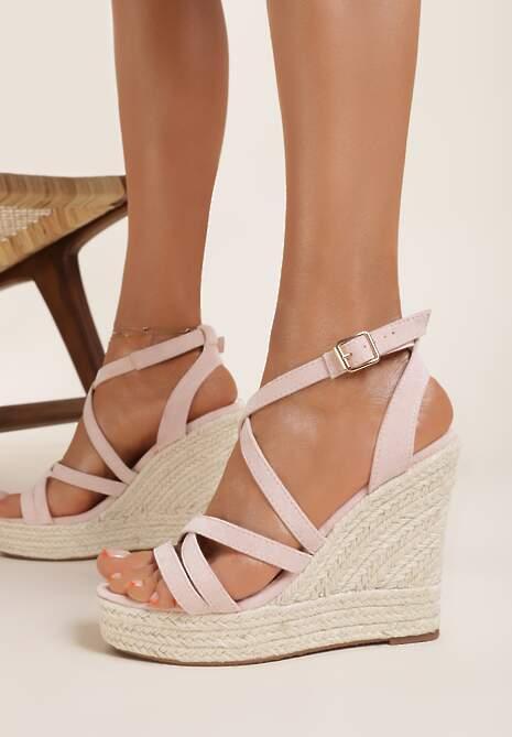 Różowe Sandały Xanusei