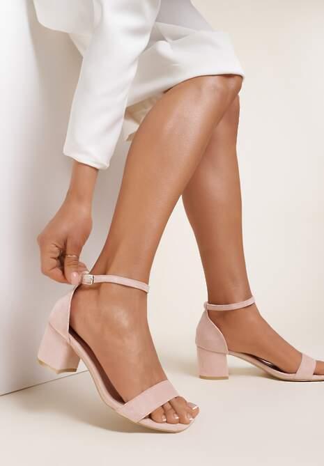 Różowe Sandały Athizertise