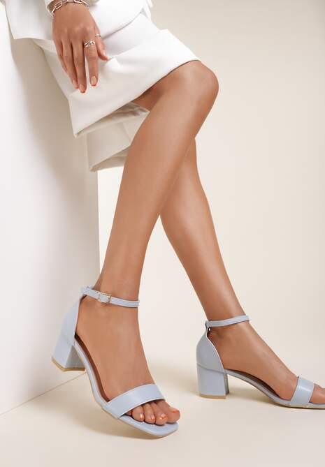 Niebieskie Sandały Thalophi