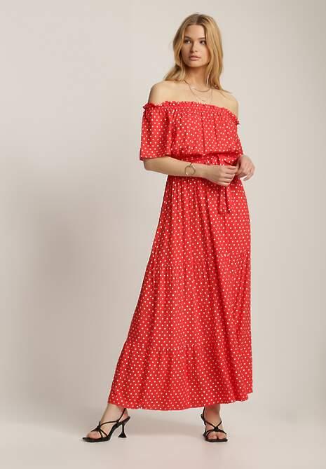 Czerwona Sukienka Kaliphanthe