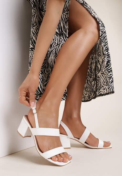 Białe Sandały Ophiertise