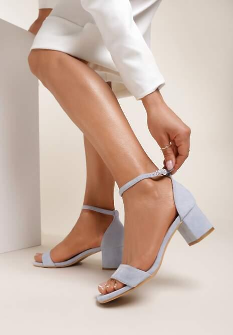 Niebieskie Sandały Harphiphelia