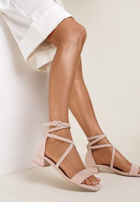 Różowe Sandały Pixiphae