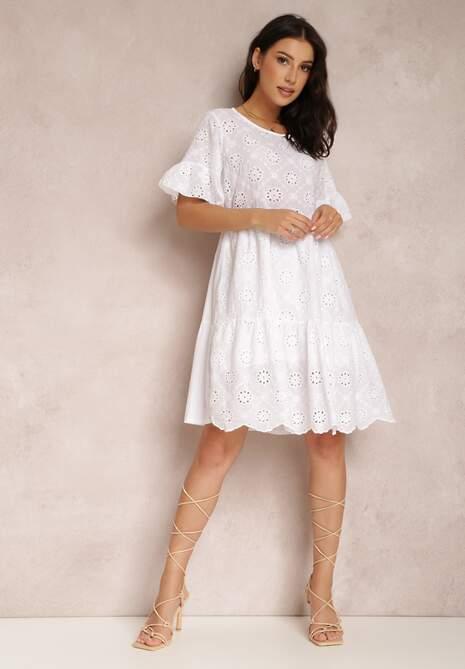 Biała Sukienka Thyxose