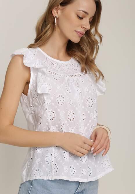 Biała Bluzka Taphethe