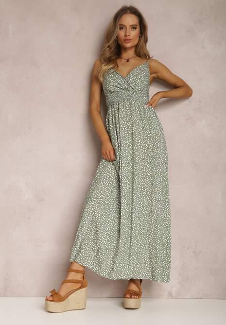 Zielona Sukienka Eriphephia