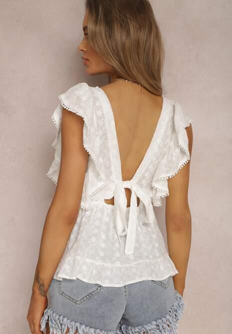 Biała Bluzka Thelishae