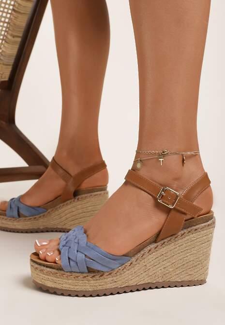Niebieskie Sandały Kathedice