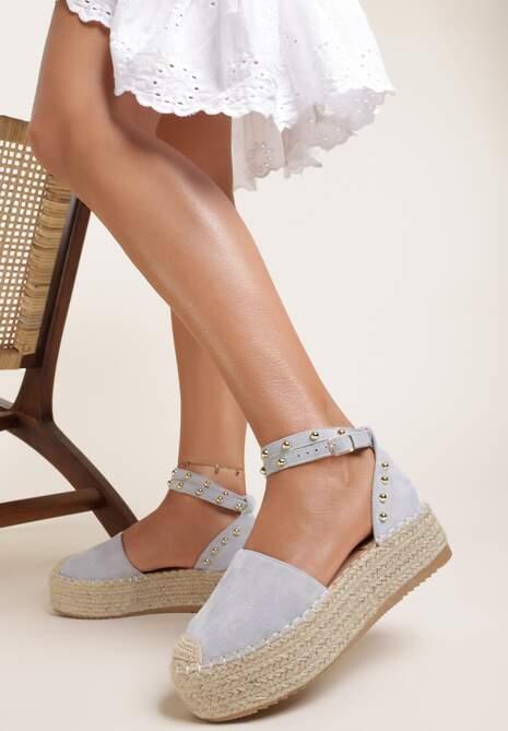 Niebieskie Sandały Taphisei