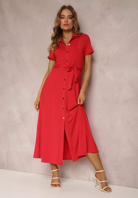 Czerwona Sukienka Asheila