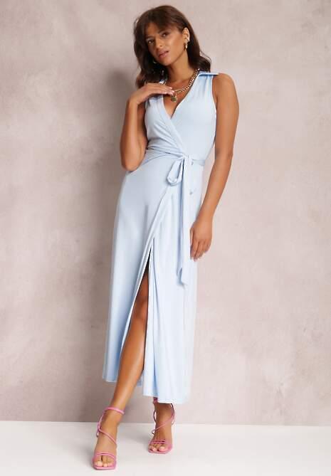 Jasnoniebieska Sukienka Crethallis