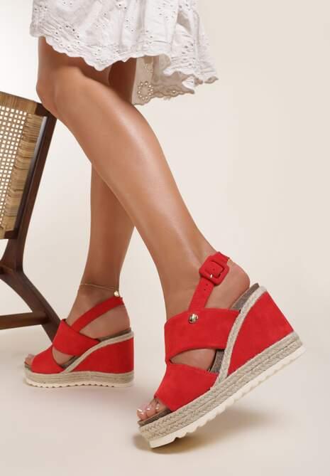 Czerwone Sandały Ashertise