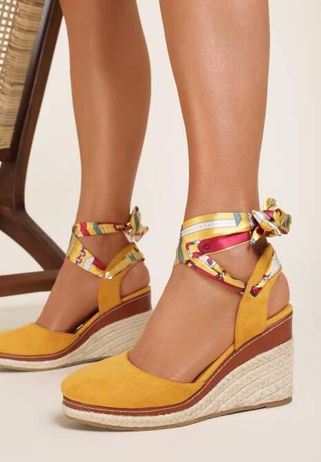 Żółte Sandały Zephishae