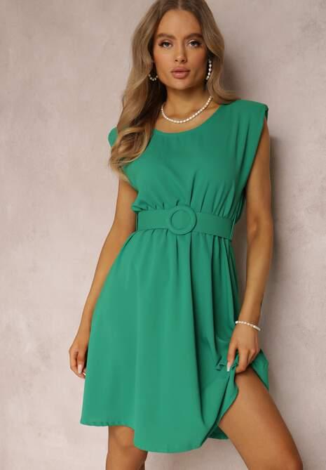 Zielona Sukienka Thananthei