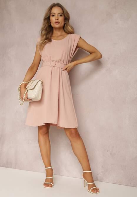 Różowa Sukienka Thananthei