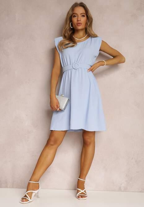 Jasnoniebieska Sukienka Thananthei