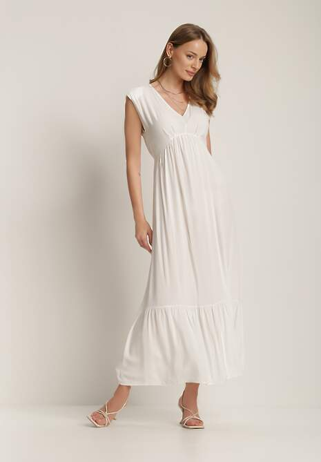Biała Sukienka Prixusei