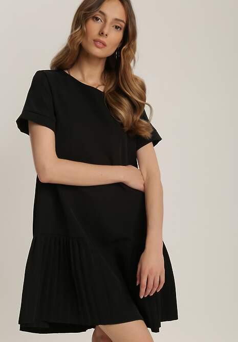 Czarna Sukienka Prosacia