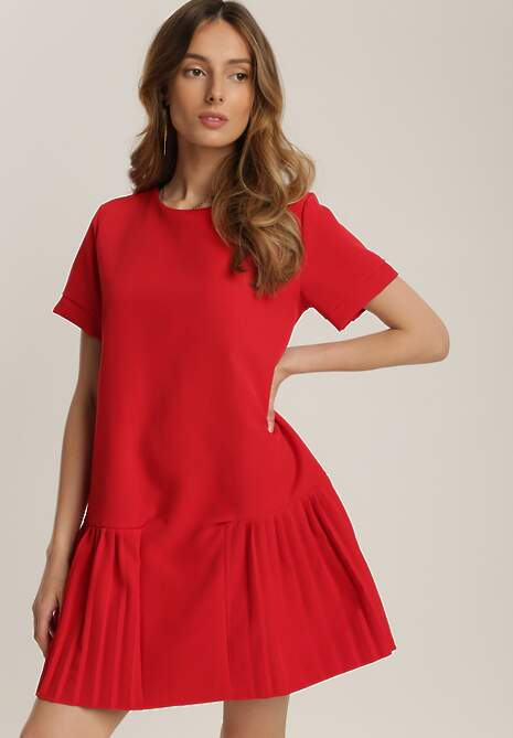 Czerwona Sukienka Prosacia