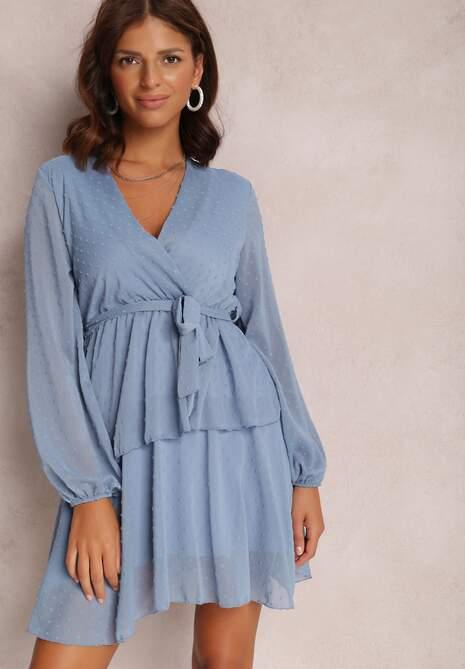 Niebieska Sukienka Shadebinder