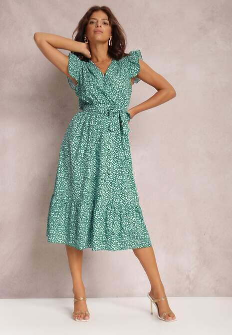 Zielona Sukienka Vohron