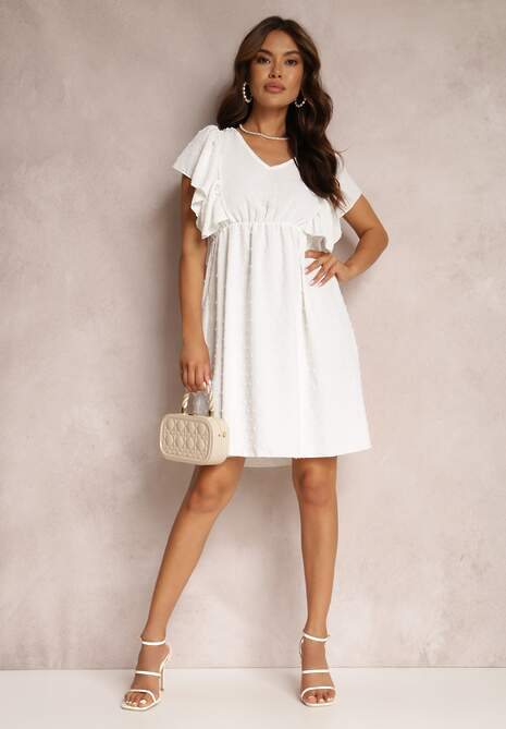 Biała Sukienka Phirryn