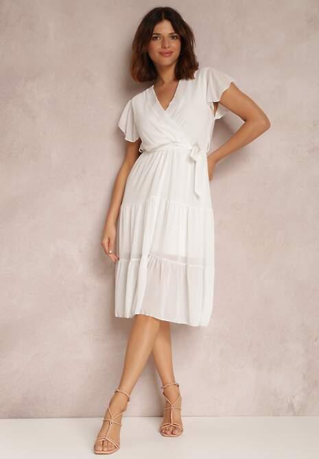 Biała Sukienka Joranixan