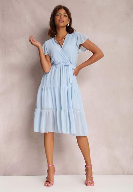 Jasnoniebieska Sukienka Joranixan