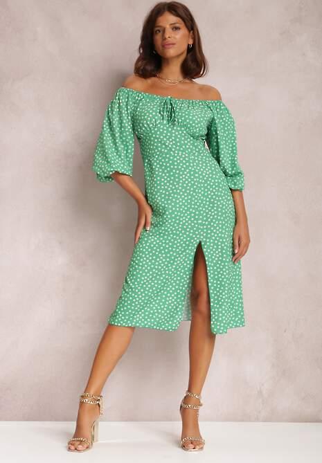 Zielona Sukienka Hurinez