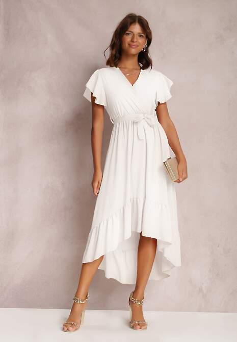 Biała Sukienka Pamvahr