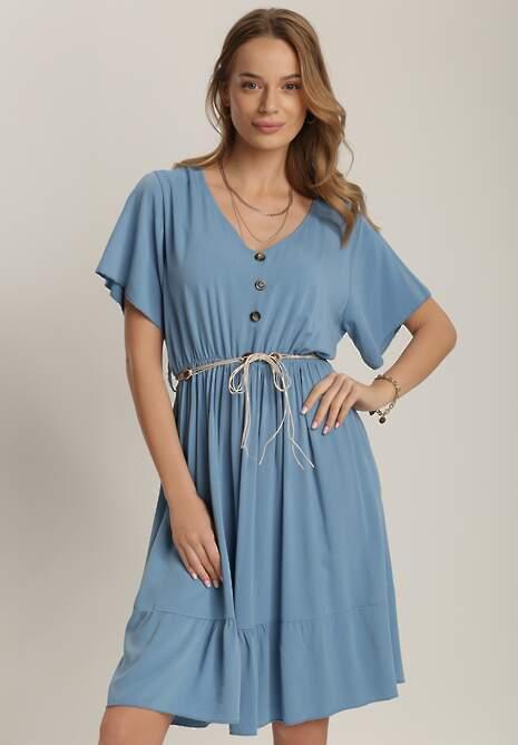 Niebieska Sukienka Merineva