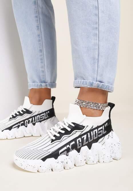 Białe Sneakersy Stephitrius