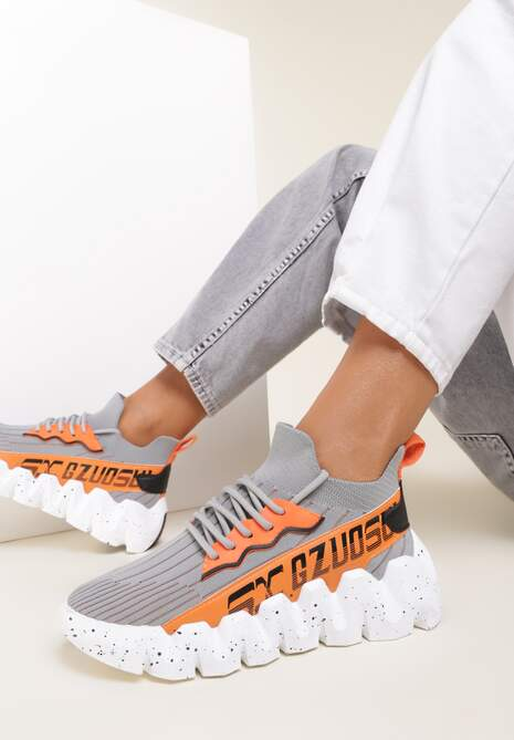Szare Sneakersy Stephitrius