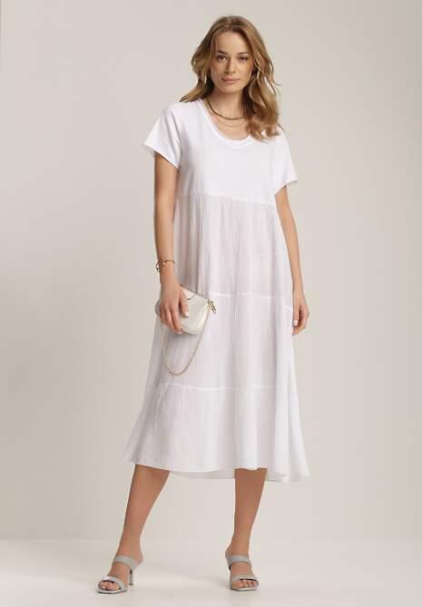 Biała Sukienka Xallan