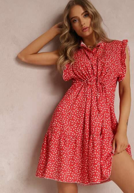 Czerwona Sukienka Caesorus