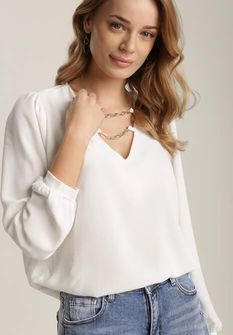 Biała Bluzka Naharrahn