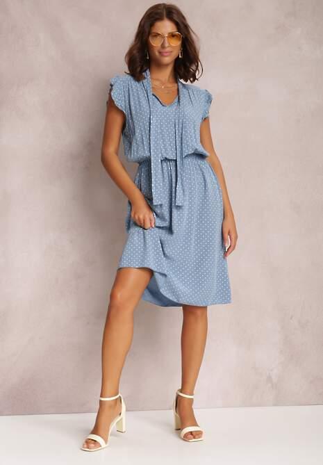 Niebieska Sukienka Athetheus