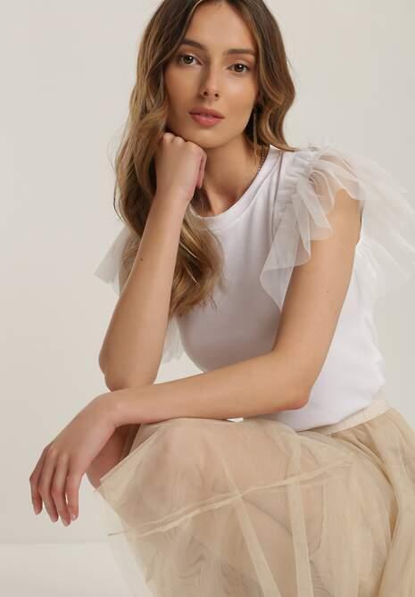 Biała Bluzka Prisise