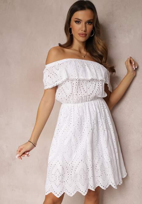 Biała Sukienka Ohmryd