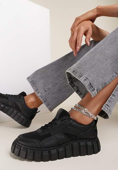 Czarne Sneakersy Aethirise