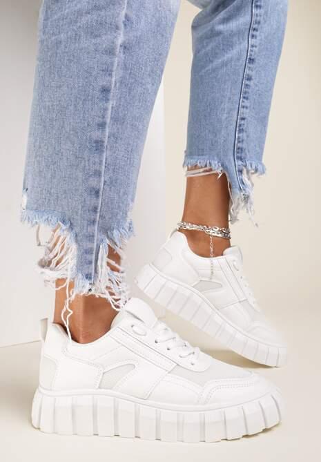 Białe Sneakersy Aethirise