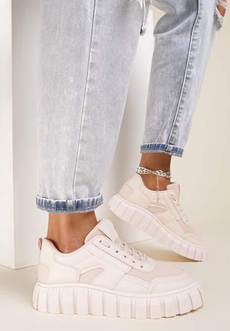 Różowe Sneakersy Aethirise
