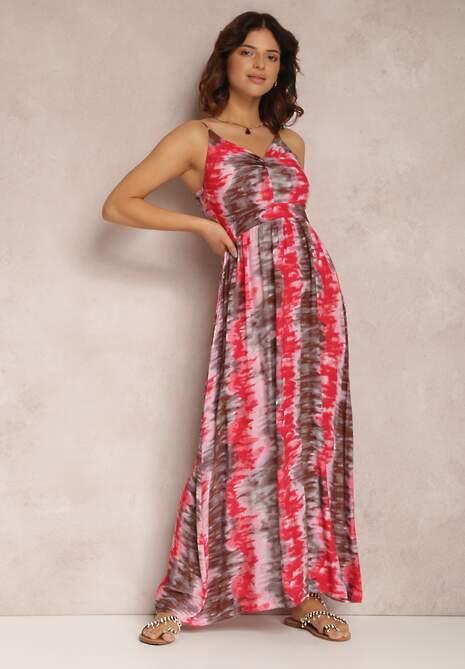 Czerwona Sukienka Zhaly