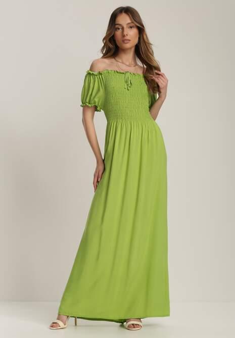 Jasnozielona Sukienka Adrarina