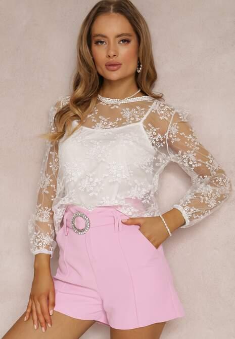 Biała Bluzka Cordely