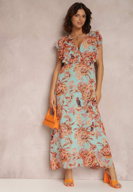 Jasnozielona Sukienka Iphariko